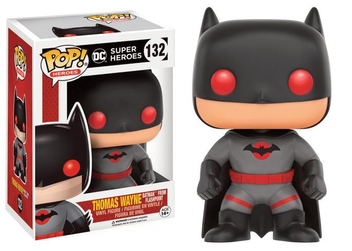 DC Comics POP! Heroes Vinyl Figure Flashpoint Batman 9 cm