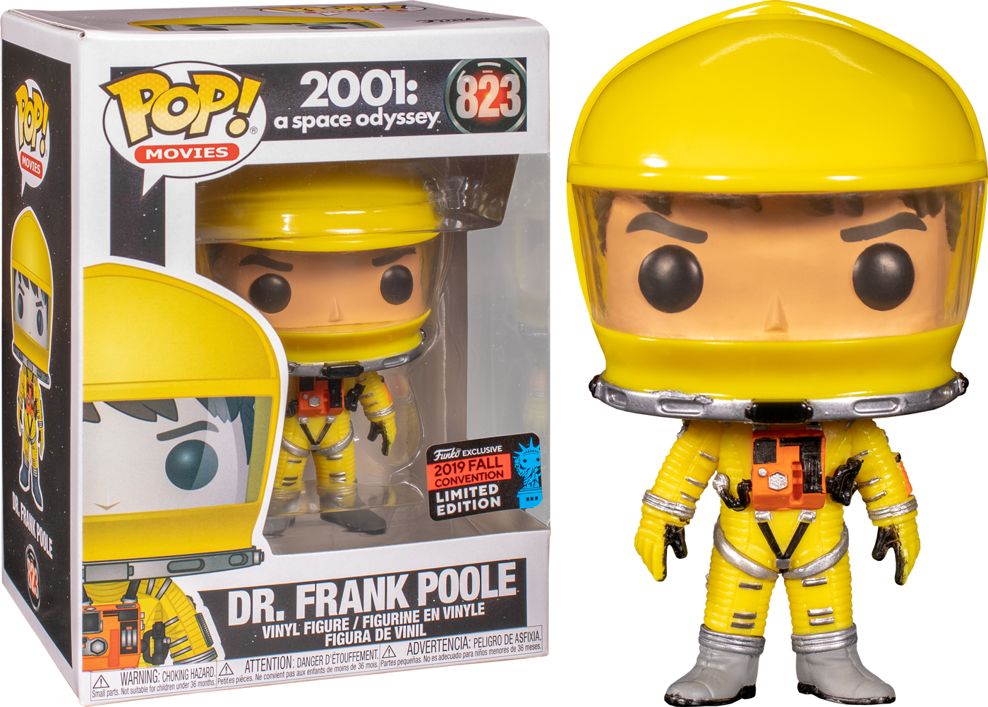 2001: A Space Odissey POP! Vinyl Figure Dr. Frank Poole Exclusive Edition 9 cm (con bollino Fall Convention 2019)