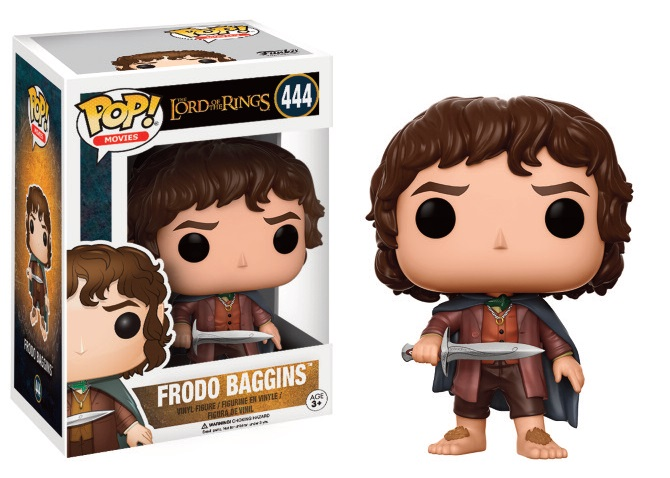 Lord of The Rings POP! Movies Vinyl Figure Frodo 9 cm