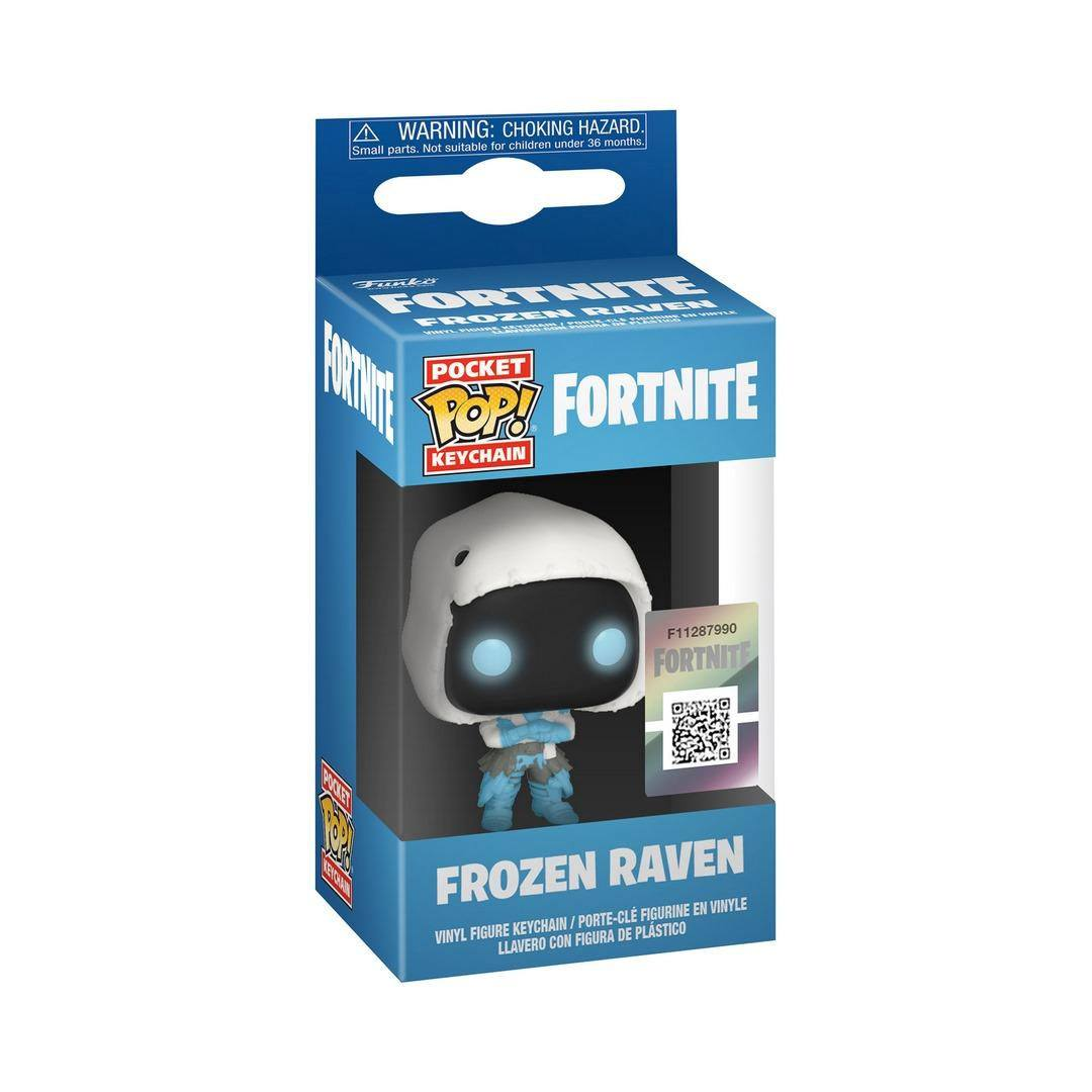 Fortnite Pocket POP! Vinyl Keychain Frozen Raven 4 cm