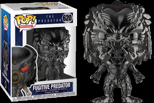 The Predator POP! Movies Vinyl Figures Fugitive Predator Chrome Limited 9 cm