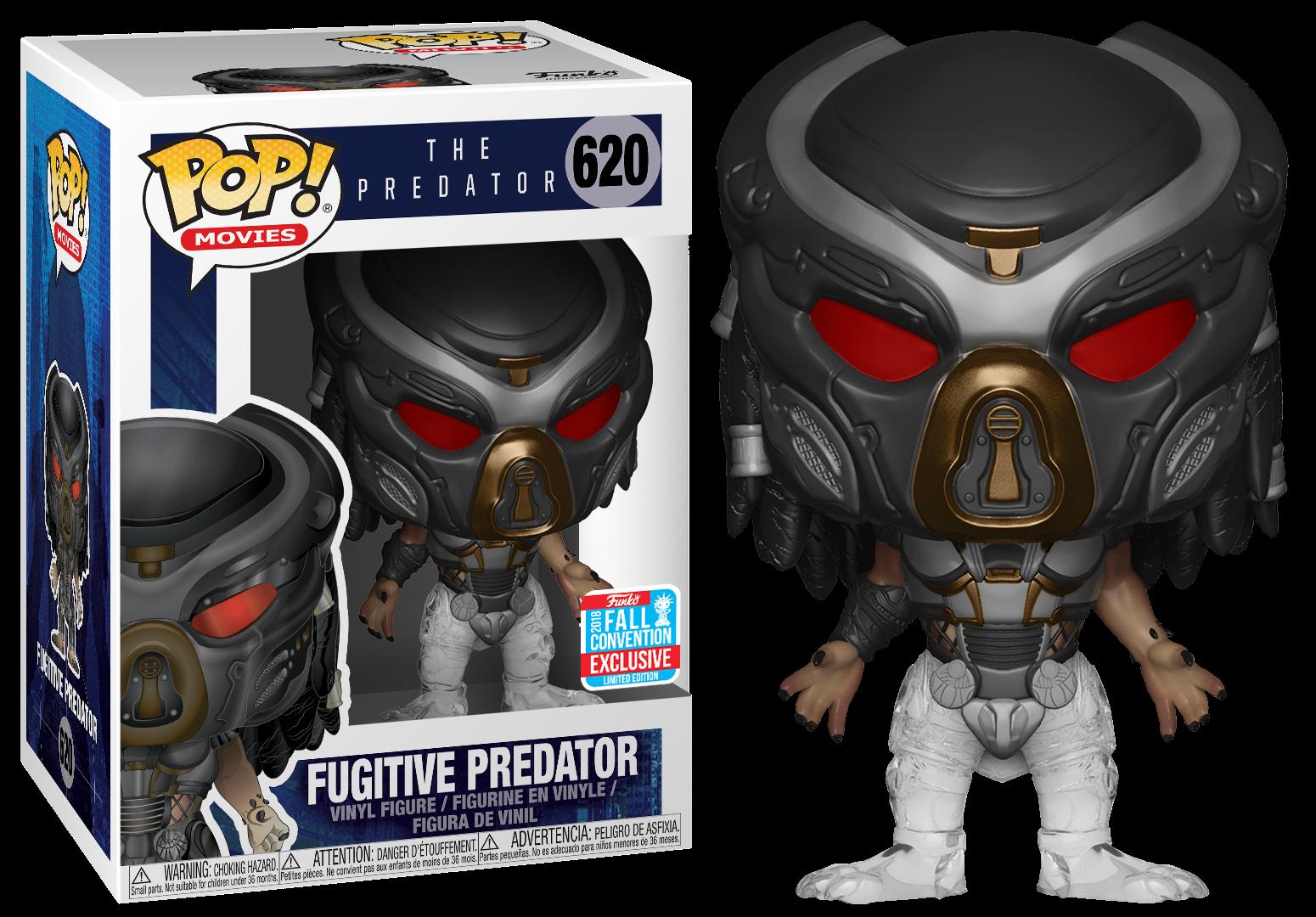 The Predator Movie 2018 POP! Vinyl Figure Fugitive Predator 9 cm (con bollino Fall Convention 2018)