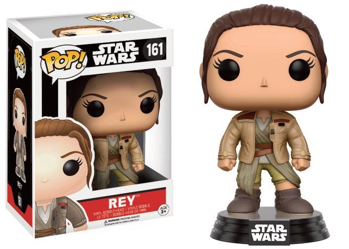 Star Wars Episode VII POP! Vinyl Bobble-Head Figure Rey in Finn's Jacket 9 cm