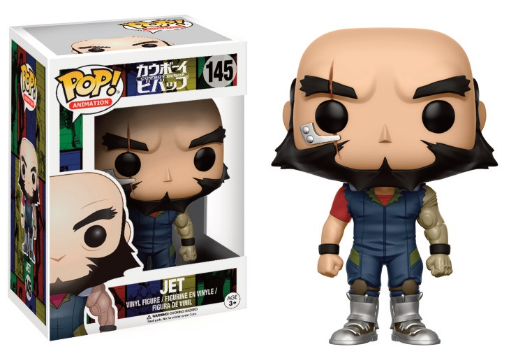 Cowboy Bebop POP! Animation Vinyl Figure Jet Black 9 cm