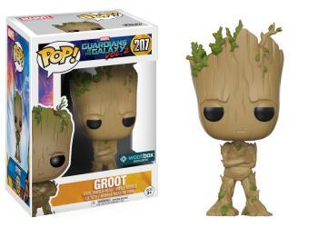 Guardians of the Galaxy 2 POP! Vinyl Bobble-Head Teenage Groot 9 cm