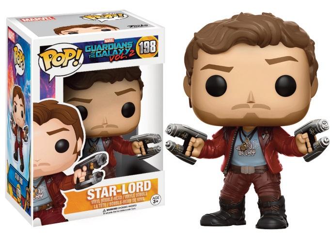 Guardians of the Galaxy Vol. 2 POP! Marvel Vinyl Figure Star-Lord 9 cm