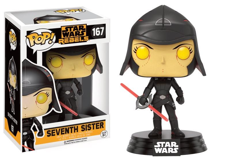 Star Wars Rebels POP! Vinyl Bobble-Head Figure Seventh Sister 9 cm