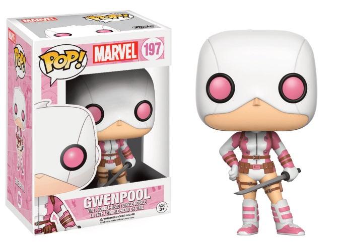 Marvel Comics POP! Marvel Vinyl Figure Gwenpool Masked with Sword 9 cm