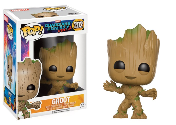 Guardians of the Galaxy Vol. 2 POP! Marvel Vinyl Figure Young Groot 9 cm
