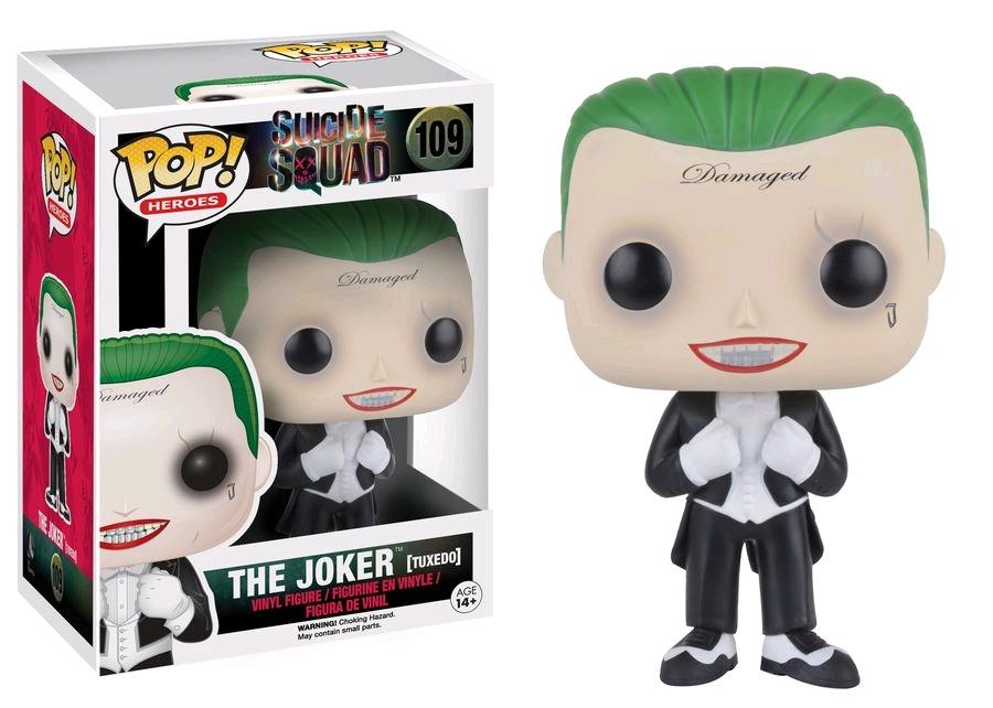 Suicide Squad POP! Heroes Vinyl Figure The Joker (Tuxedo) Exclusive 9 cm