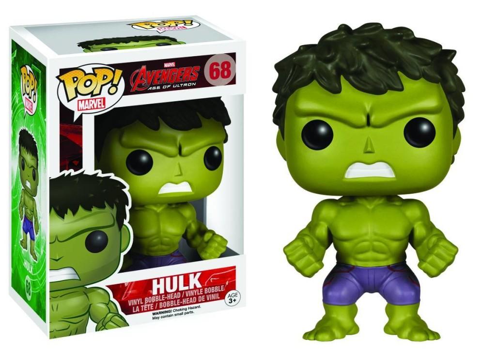 Avengers Age of Ultron POP! Vinyl Bobble-Head Hulk 10 cm