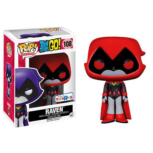 Teen Titans Go! POP! Television Vinyl Figure Raven (Red) 9 cm