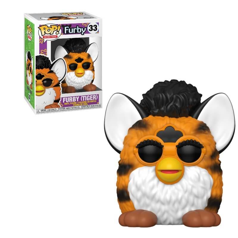 Hasbro POP! Vinyl Figure Furby (Tiger) 9 cm
