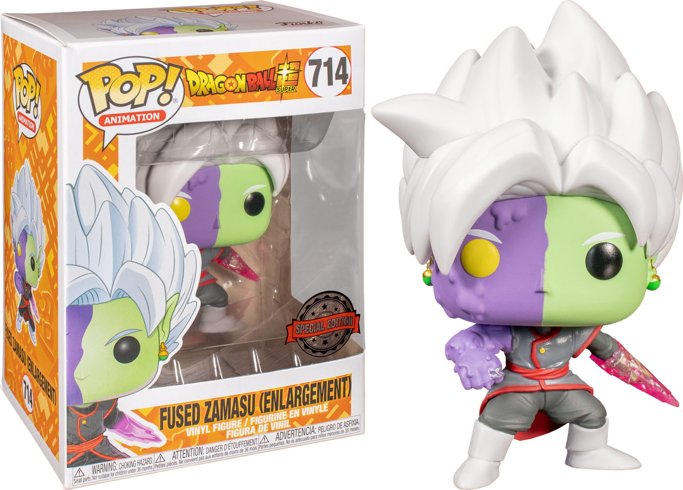 Dragonball Super POP! Animation Vinyl Figure Fused Zamasu Enlargement Limited 9 cm