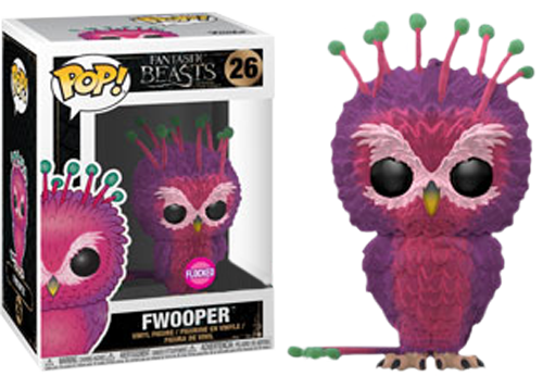 Fantastic Beasts 2 POP! Movies Vinyl Figure Fwooper Flocked Limited 9 cm