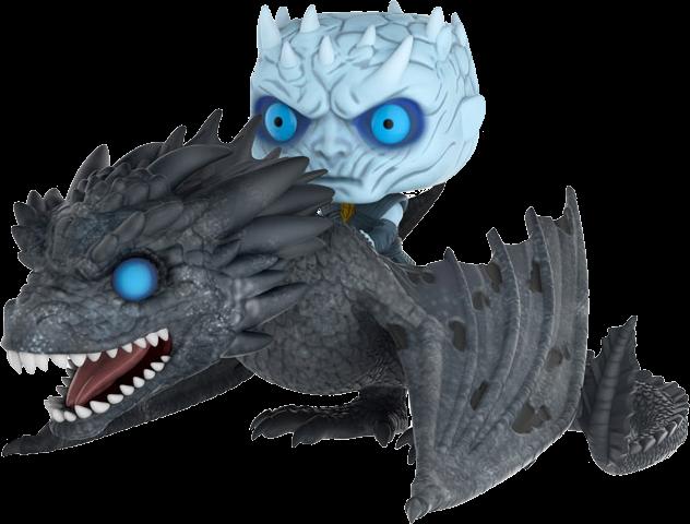 Game of Thrones POP! Rides Vinyl Figure Night King & Viserion Glow in the Dark 18 cm