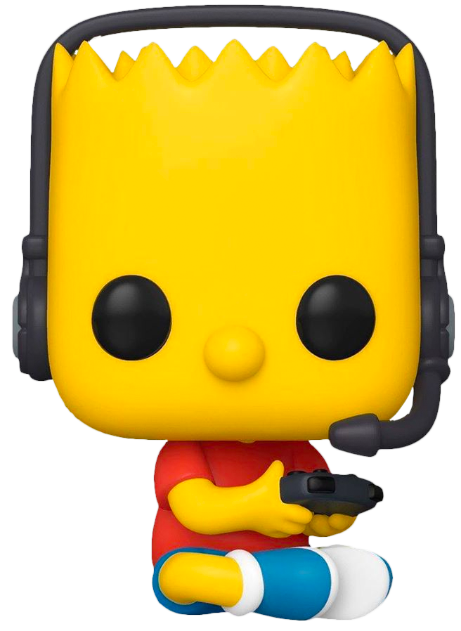 The Simpson POP! Animation Figure Gamer Bart Limited 9 cm