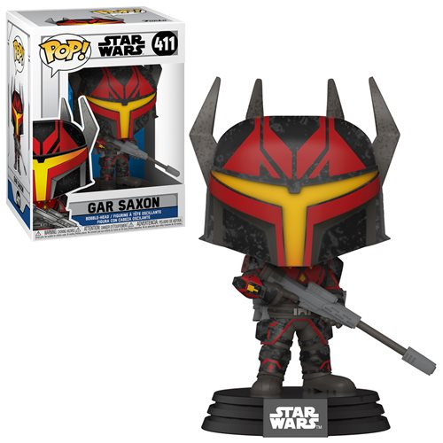 Star Wars: Clone Wars POP! Star Wars Vinyl Figure Gar Saxon 9 cm