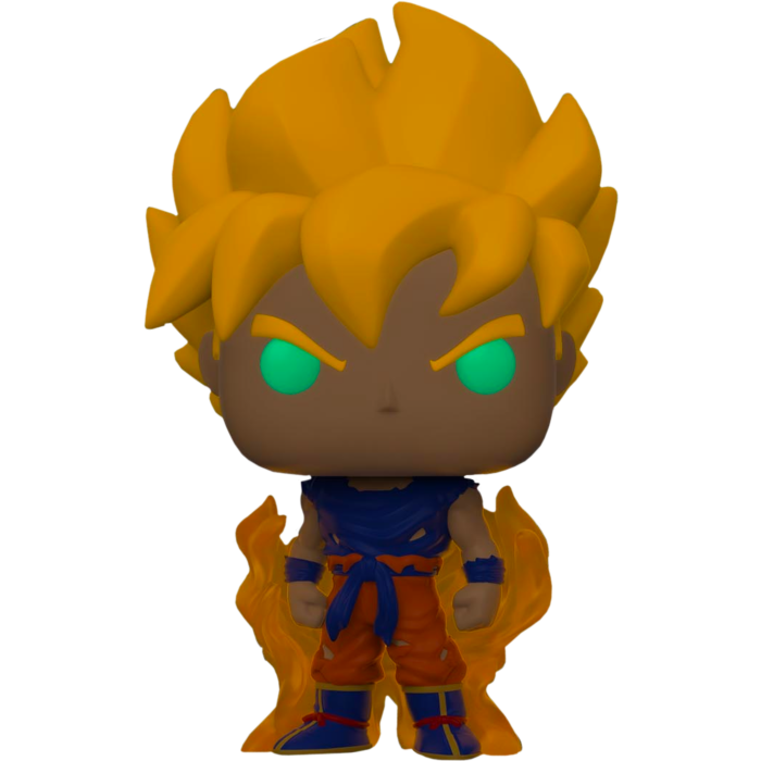 Dragon Ball Z POP! Animation Vinyl Figure SS Goku (First Appearance) Glow in the Dark Limited 9 cm