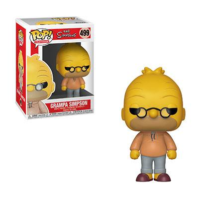 Simpsons POP! TV Vinyl Figure Granpa Simpson 9 cm
