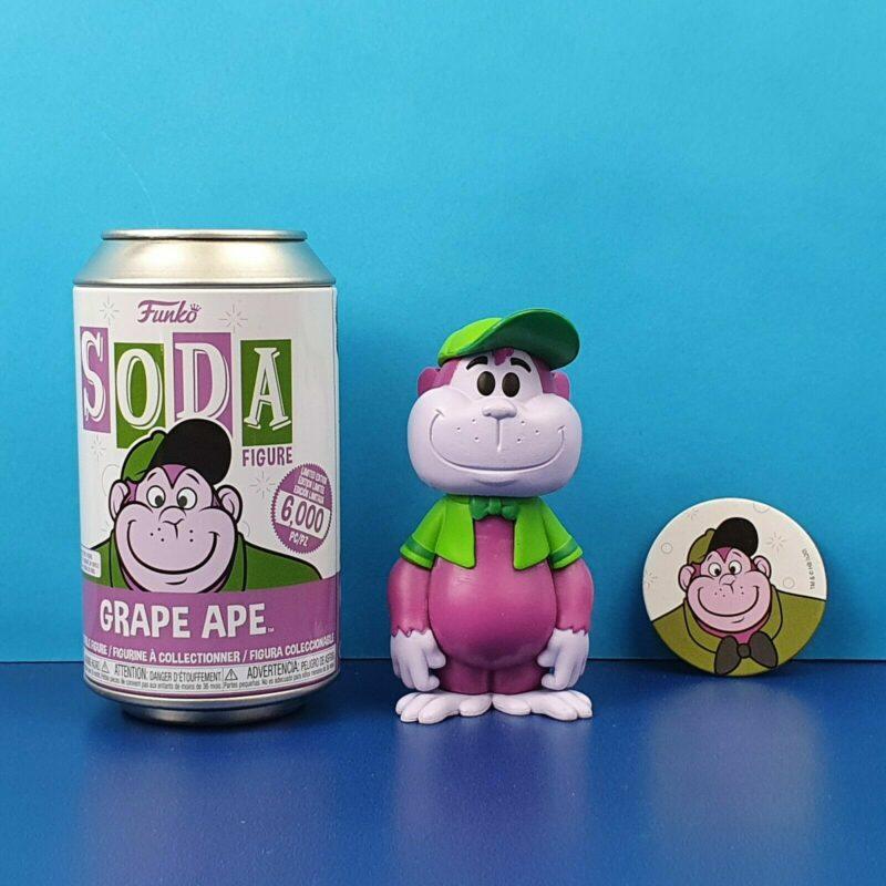 Hanna Barbera POP! Movies Vinyl SODA Figures Grape Ape 11 cm