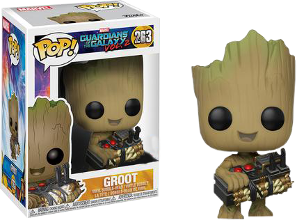 Guardians of the Galaxy 2 POP! Vinyl Bobble-Head Groot with Bomb 9 cm