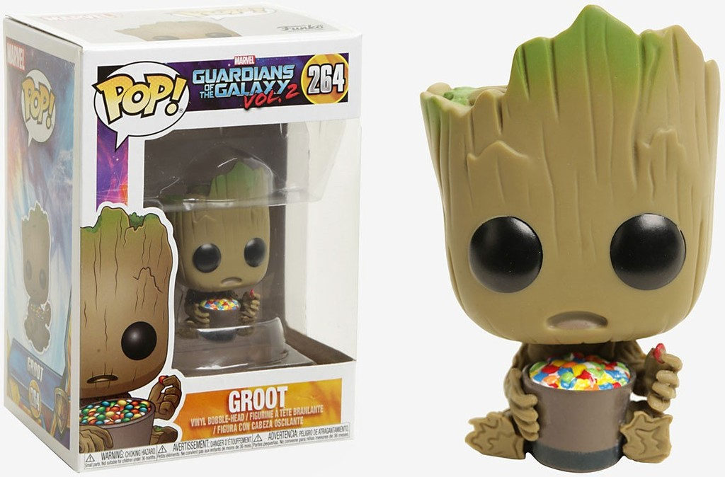 Guardians of the Galaxy Vol. 2 POP! Marvel Vinyl Figure Groot with Candy Bowl 9 cm