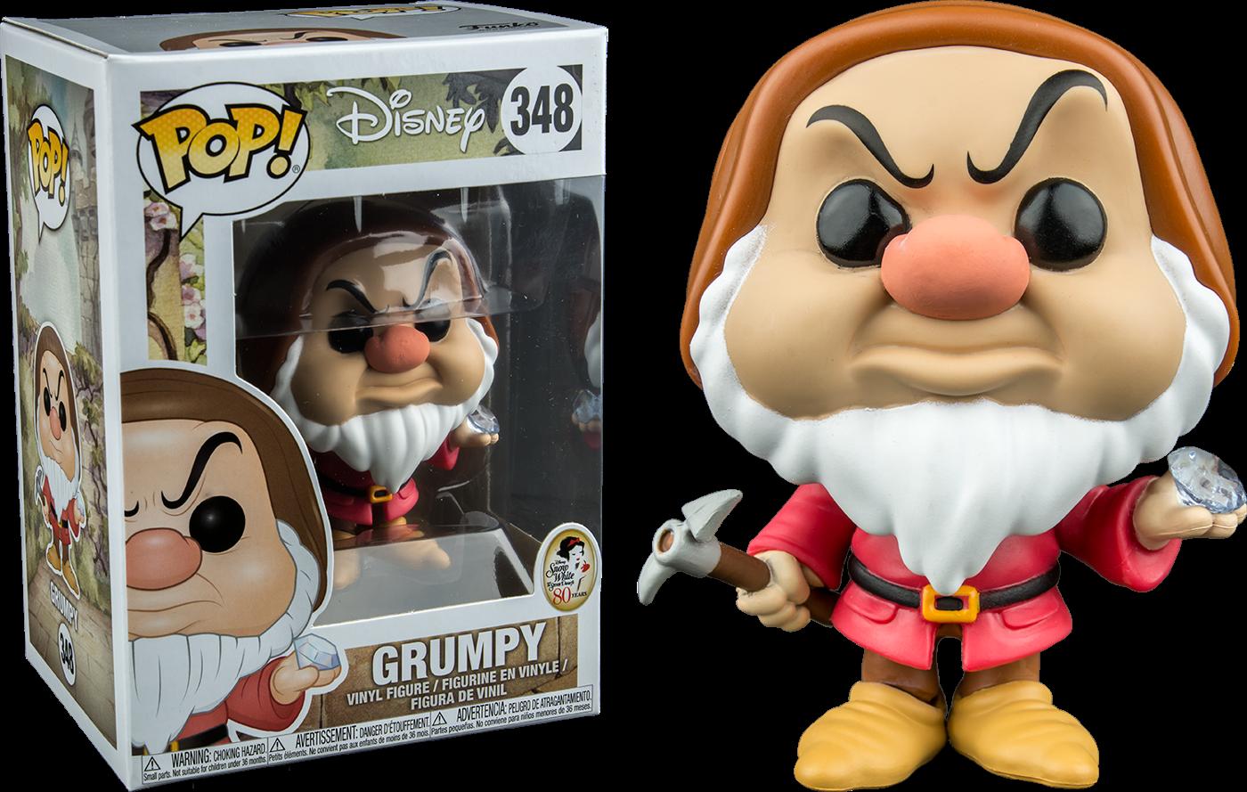 Snow White and the Seven Dwarfs POP! Disney Vinyl Figure Grumpy (Diamond Pick) 9 cm