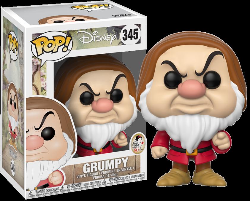 Snow White and The Seven Dwarfs POP! Disney Vinyl Figure Grumpy 9 cm