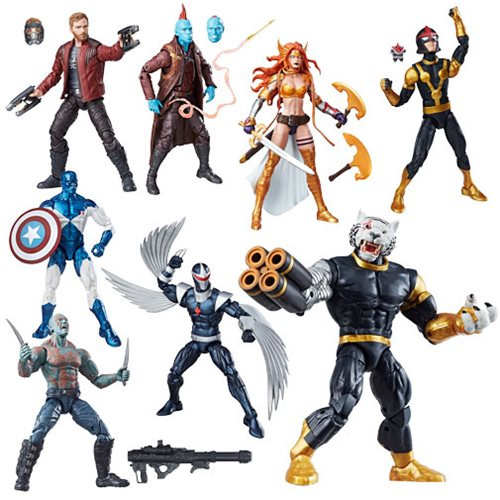 Guardians of the Galaxy Marvel Legends Action Figures 15 cm Wave 1 (7)
