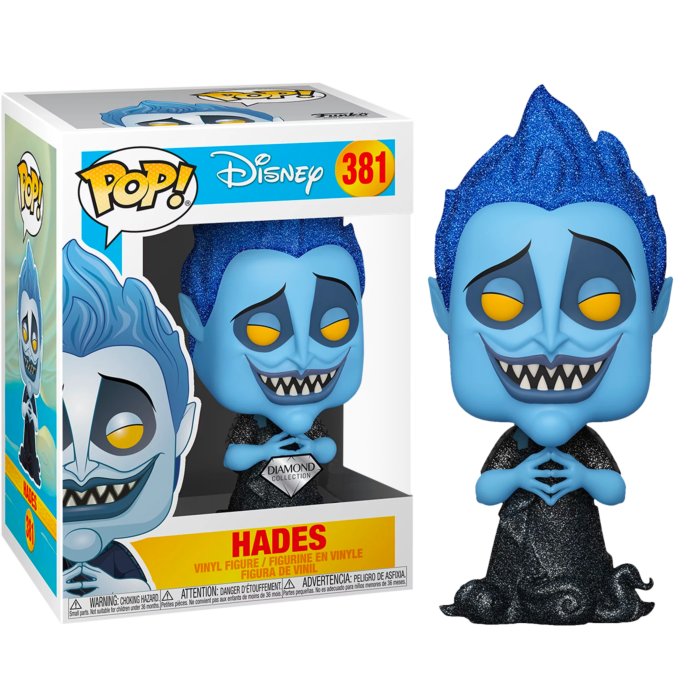 Hercules POP! Disney Vinyl Figure Hades Diamond Glitter Limited 9 cm