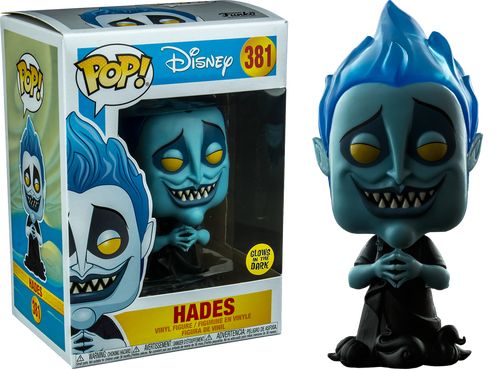 Hercules POP! Disney Vinyl Figure Hades Glow in the Dark 9 cm