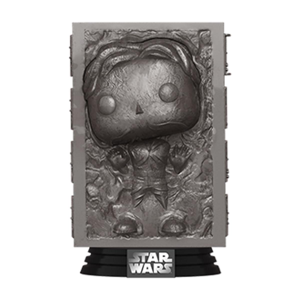 Star Wars POP! Movies Vinyl Figure Han in Carbonite Empire Strikes Back 40th Anniversary 9 cm
