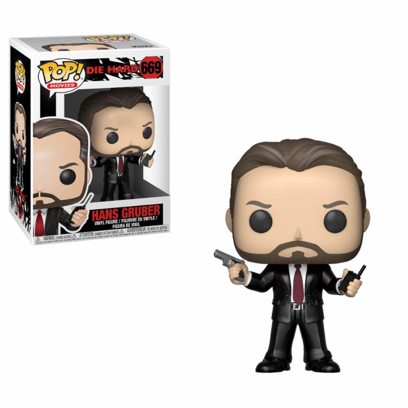 Die Hard POP! Movies Vinyl Figure Hans Gruber 9 cm