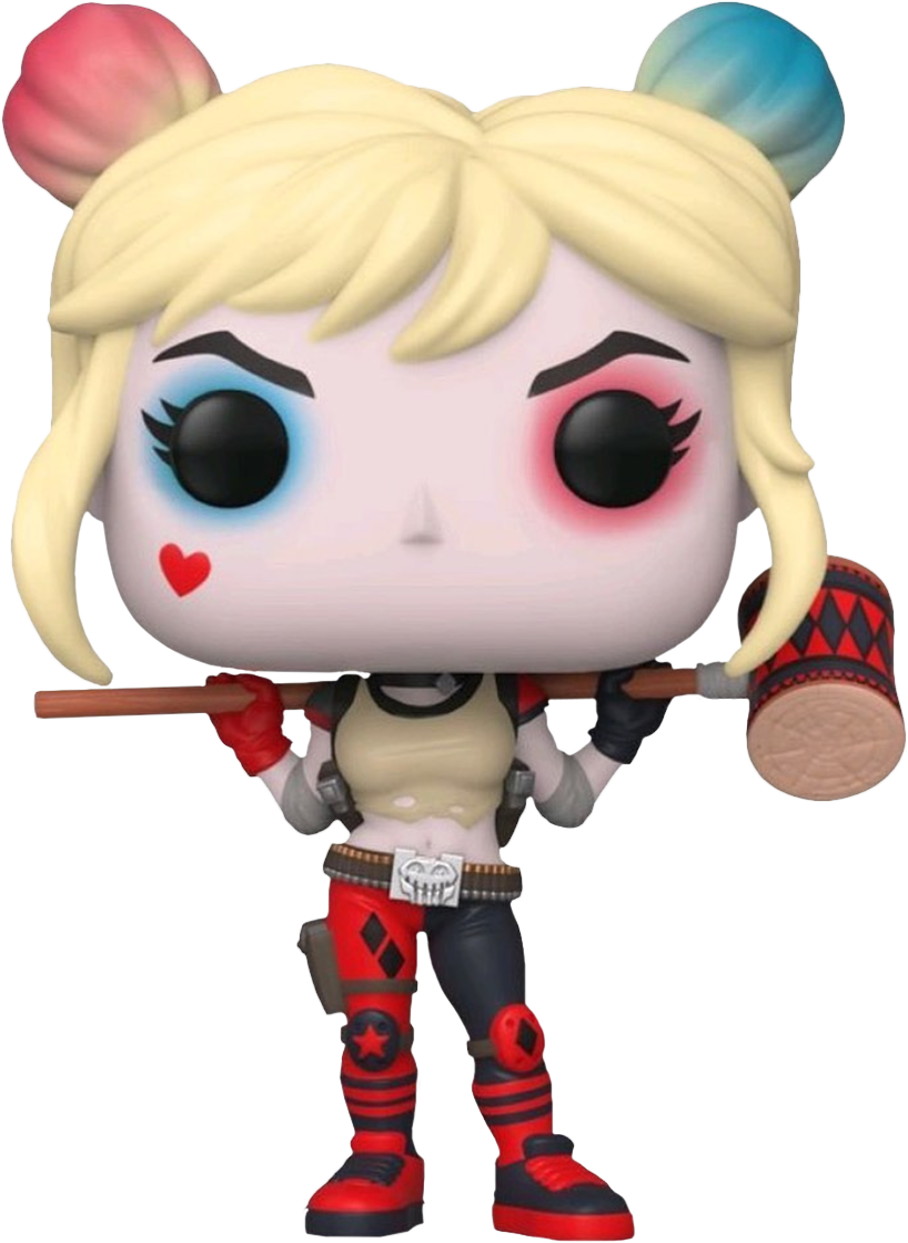 Suicide Squad: Rebirth POP! Heroes Vinyl Figure Harley Quinn with Mallet Limited 9 cm