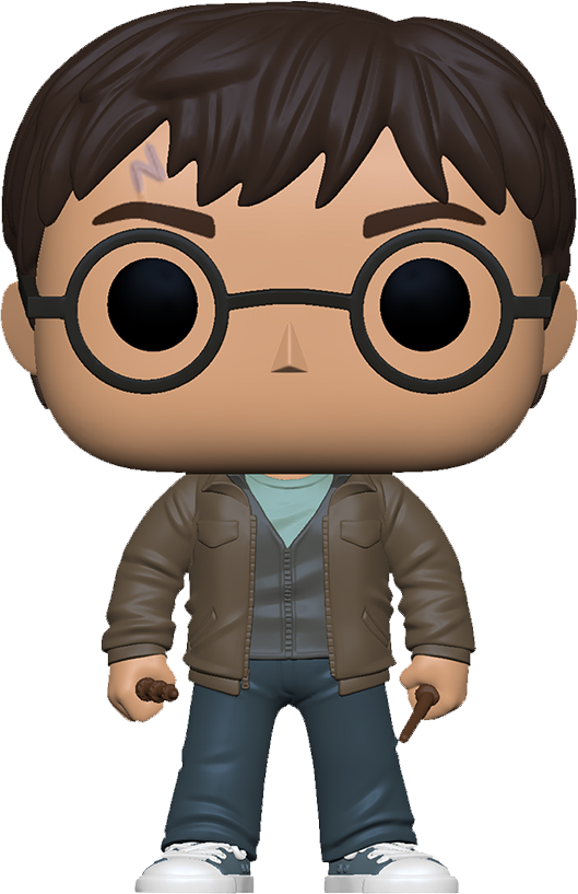 Harry Potter POP! Movies Vinyl Figure Harry Potter with two wands Limited 9 cm