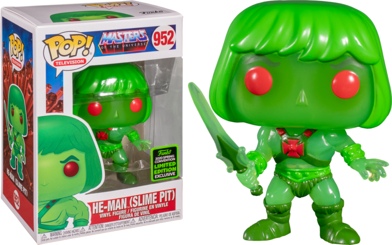 Master of The Universe POP! Vinyl Figure Slime Pit He-Man Limited 9 cm (con bollino Spring Convention 2020)