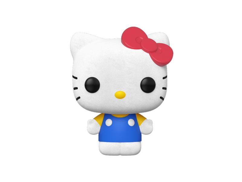 Hello Kitty POP! Sanrio Vinyl Figure Hello Kitty (Classic) Flocked 9 cm