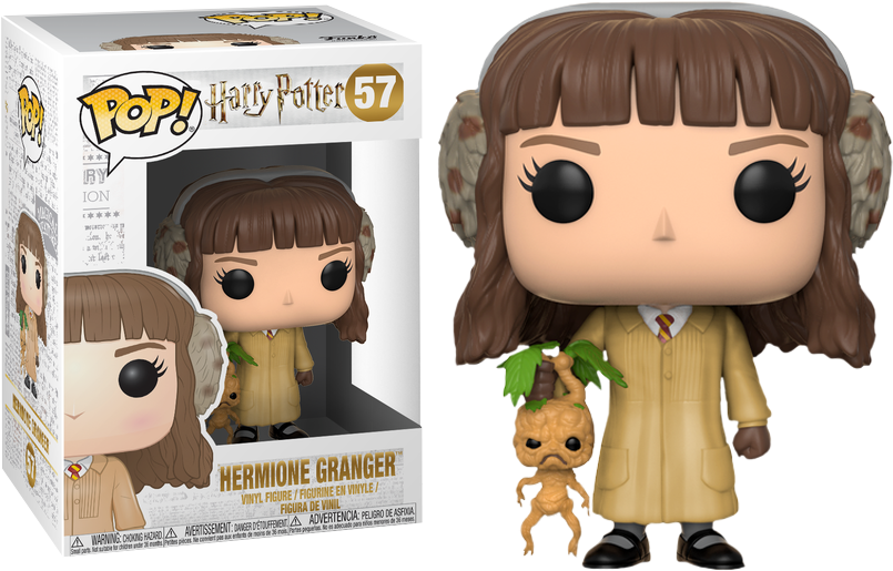 Harry Potter POP! Movies Vinyl Figure Hermione Granger in Herbology Outfit 9 cm