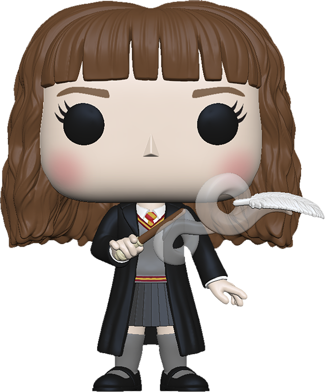 Harry Potter POP! Movies Vinyl Figure Hermione w/Feather 9 cm