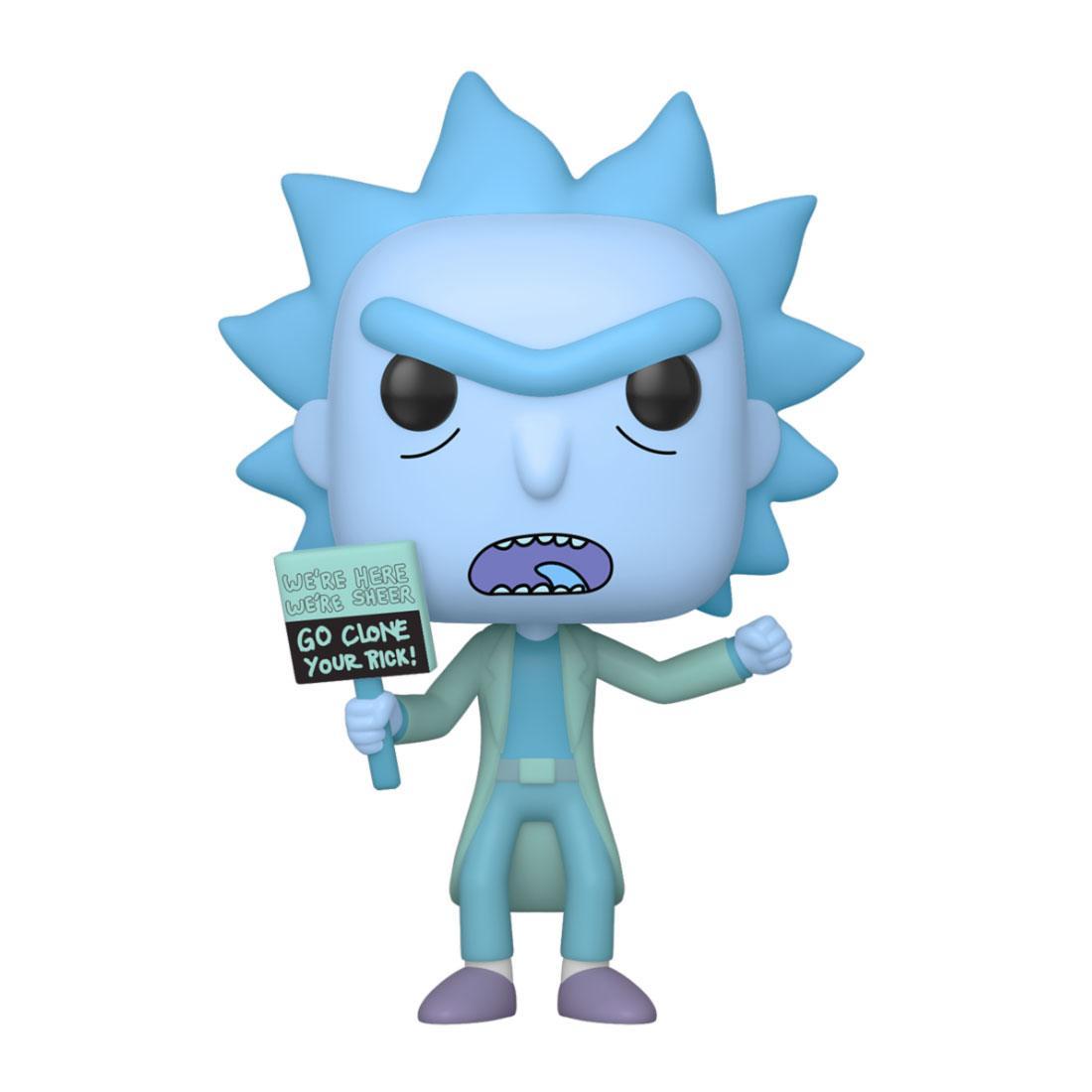 Rick and Morty POP! Animation Vinyl Figure Hologram Rick Clone 9 cm