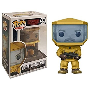 Stranger Things POP! TV Vinyl Figure Hopper in Biohazard Suit 9 cm