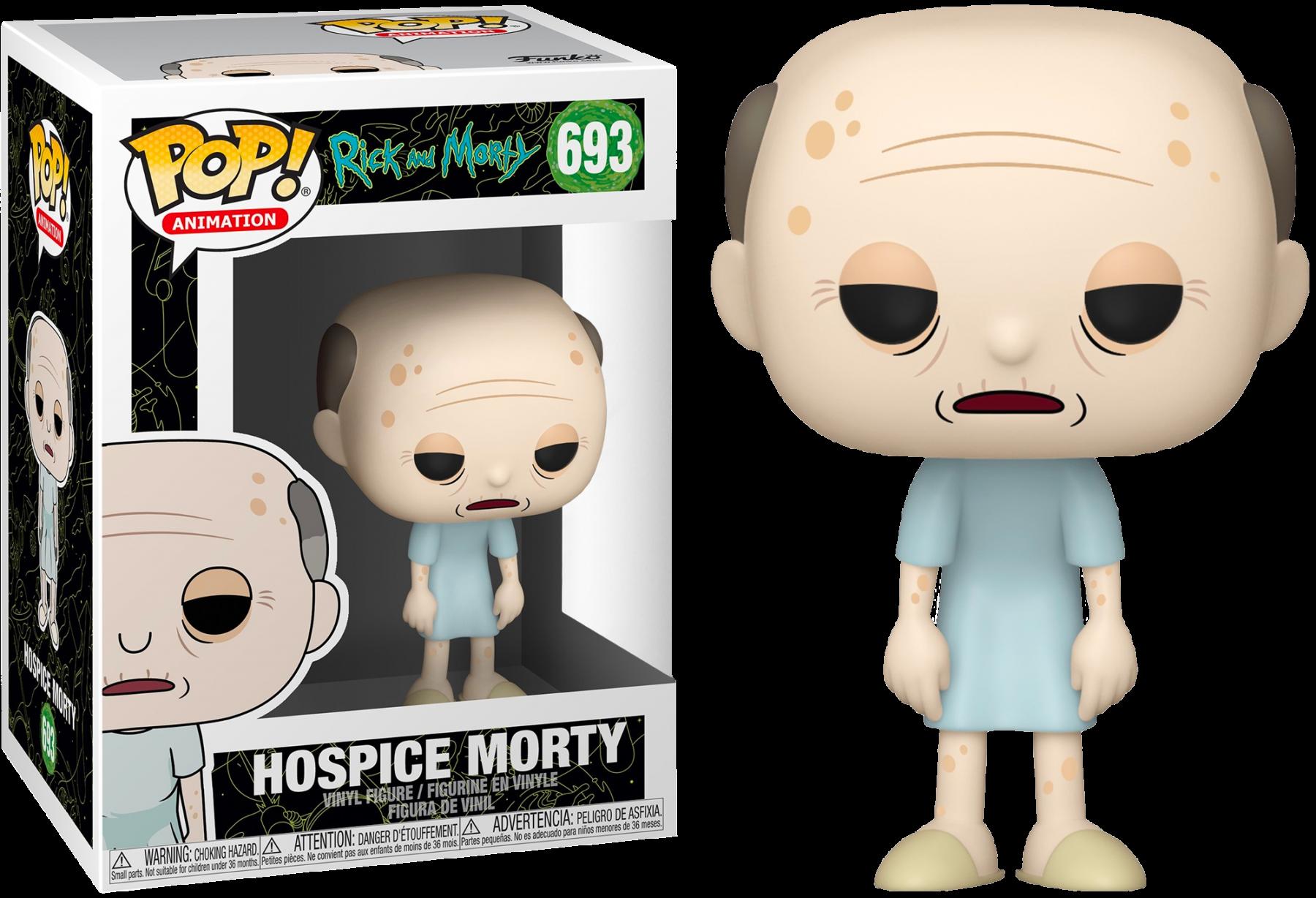 Rick & Morty POP! Animation Vinyl Figure Hospice Morty 9 cm