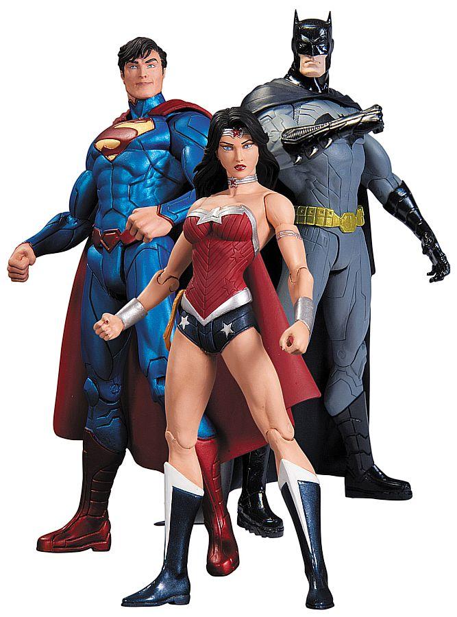 DC Comics Action Figure Box Set Trinity War