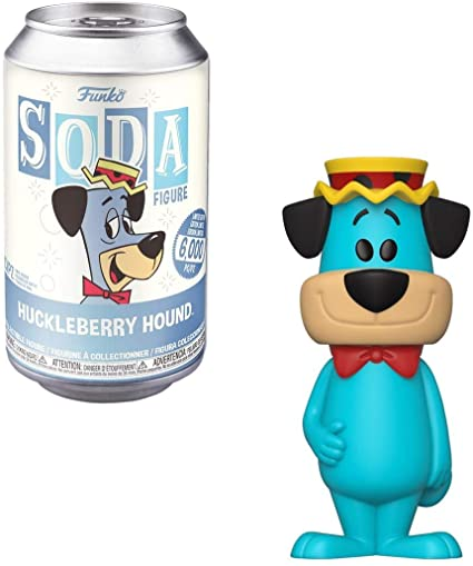 Hanna Barbera POP! Movies Vinyl SODA Figures Huckleberry Hound 11 cm