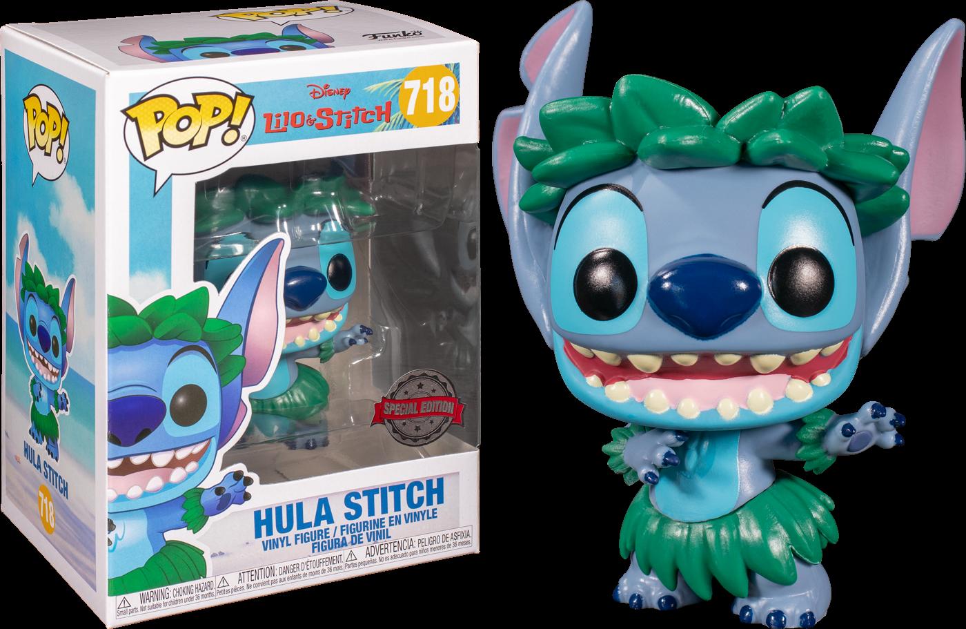 Lilo & Stitch POP! Vinyl Figure Stitch in Hula Skirt Limited 9 cm