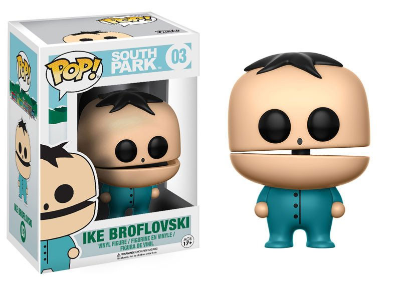 South Park POP! TV Vinyl Figure Ike Broflovski 9 cm