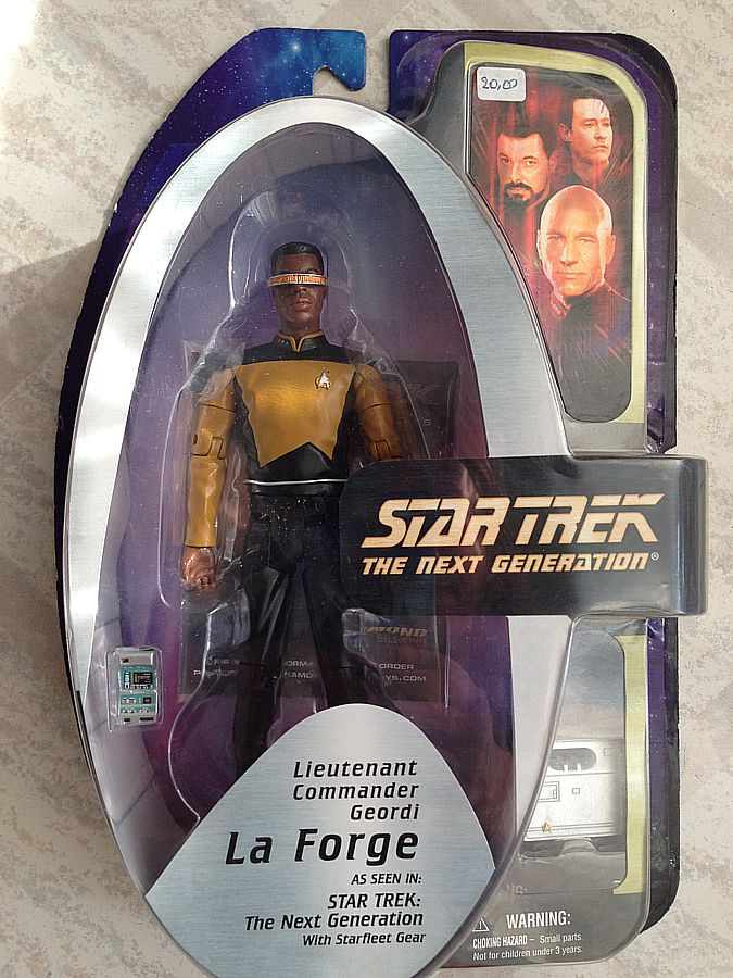 ST The Next Generation - Tenente Geordi Laforge