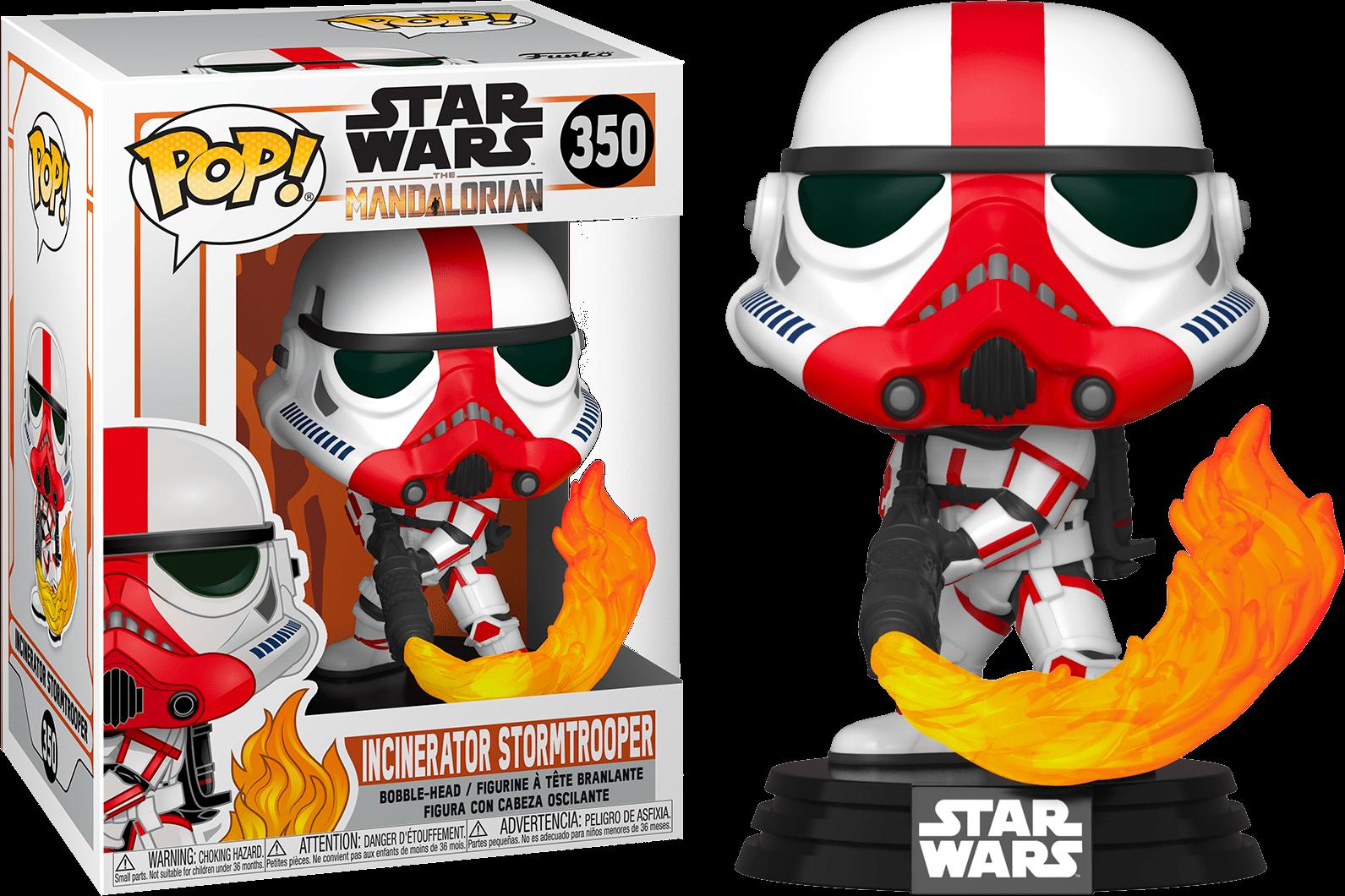 Star Wars The Mandalorian POP! TV Vinyl Figure Incinerator Stormtrooper 9 cm