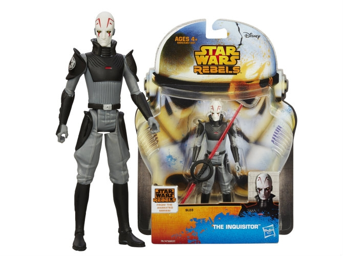 Star Wars Saga Legends Wave 2 Action Figure Inquisitor 10 cm